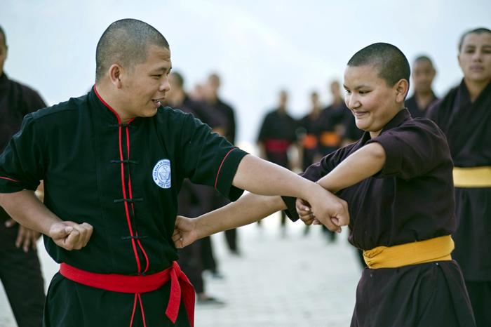 The Kung Fu Nuns of Nepal - Simon de Trey-White, Photographer